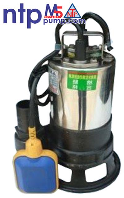 Máy bơm chìm hút bùn có phao NTP HSF250-1.75 26T